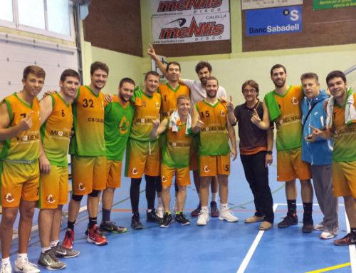 Victòria per al CB Calella FMV en l'estrena a Segona Catalana