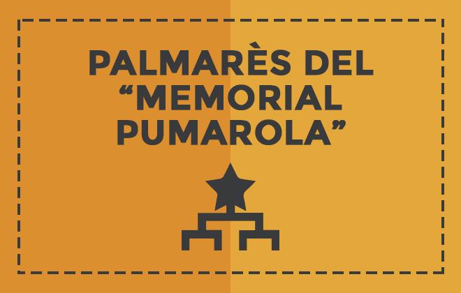 Palmarès del Memorial Pumarola