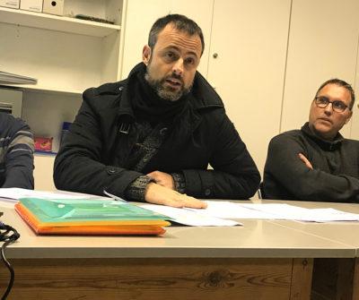 Xavier Arnijas, tresorer del CB Calella
