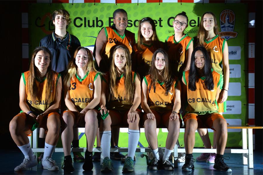 Junior B femení. Temporada 2017-2018