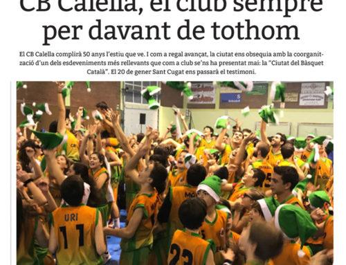 """Som notícia a la revista """"Esportiu Maresme""""!"""