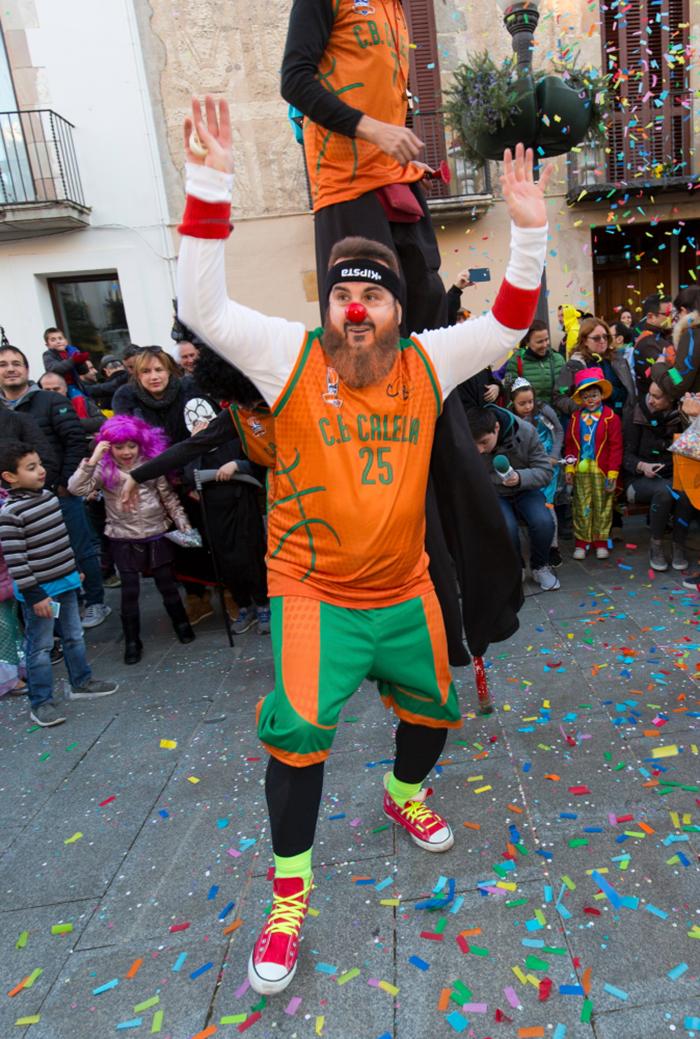 L'Albert Perarnau, un dels grans animadors del CB Calella. Foto: Joan Maria Arenaza