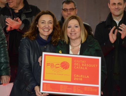 """Calella ja és """"Ciutat del Bàsquet Català 2018"""""""