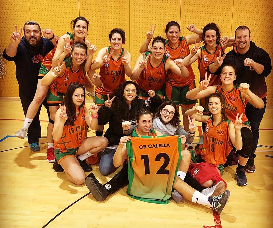 El sènior femení celebra la dotzena victòria de la temporada