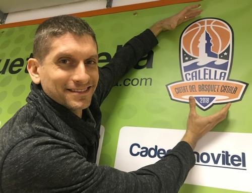 """Un logo NBA per a """"Calella, Ciutat del Bàsquet Català"""" 2018!"""