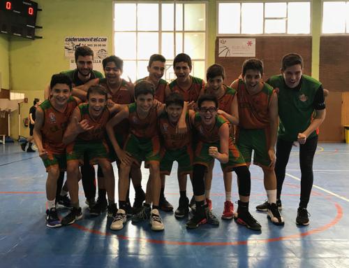"""Ja és nostra! L'infantil """"B"""" supera l'Arenys, 60 a 59, i sumem la primera victòria"""