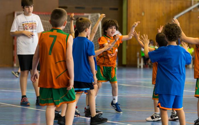 Segona trobada Kids&Us d'escoles d'iniciació a Calella. Foto: Joan Maria Arenaza