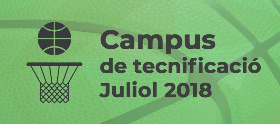 Campus de tecnificació 2018