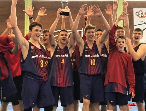 El Barça, campió infantil. 94-84 contra el Joventut de Badalona, a Calella