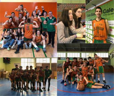 Les cinc millors fotos a l'instagram del CB Calella del mes d'abril