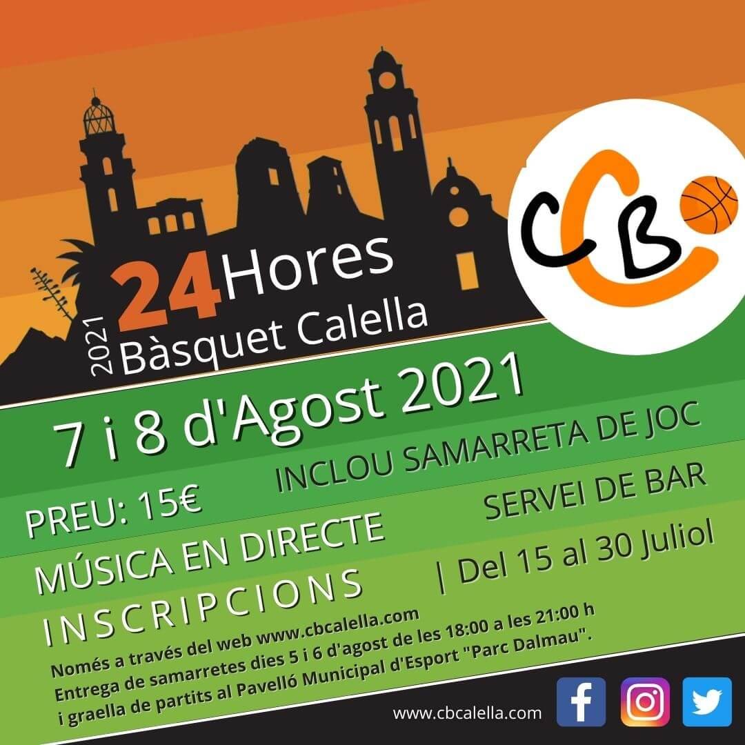 CB Calella - 24 hores Bàsquet 2021