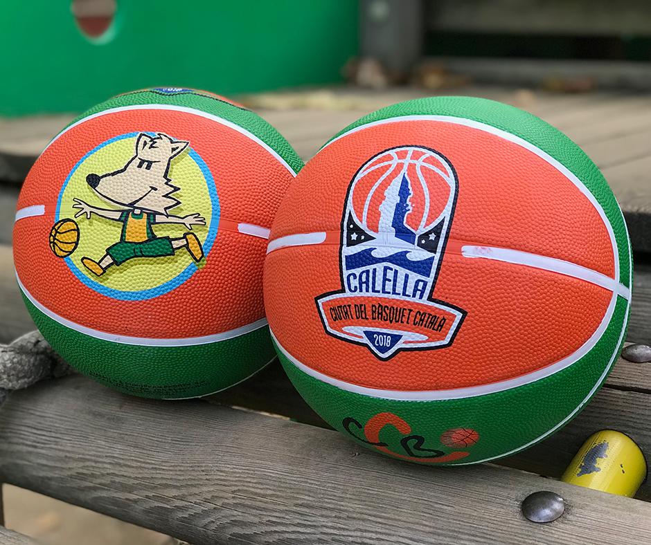 """La pilota commemorativa de la """"Ciutat del Bàsquet Català"""" que estrenem per a les 24 hores"""