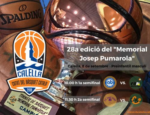 """Els memorials """"Josep Pumarola"""" i """"Bàsquet Calella"""" ja tenen el cartell definit!"""