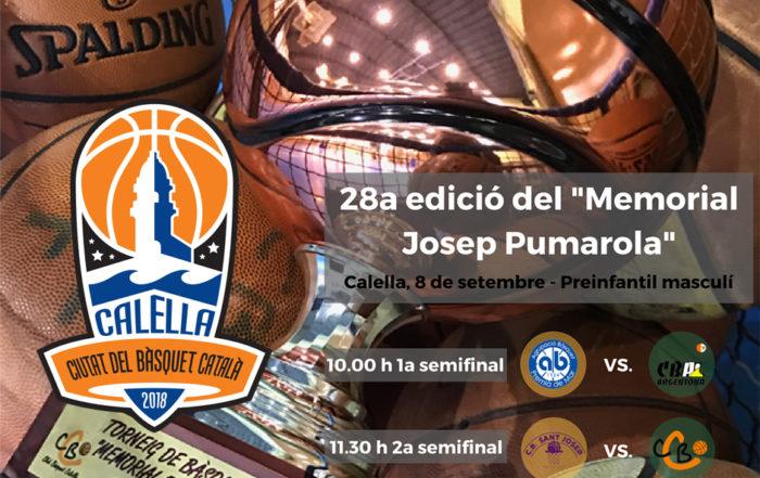 """28a edició del """"Memorial Josep Pumarola"""""""