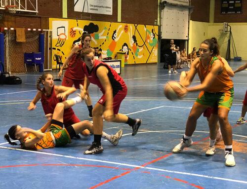 Segona del sènior femení: 51 a 48 contra el Canyelles Nou Barris