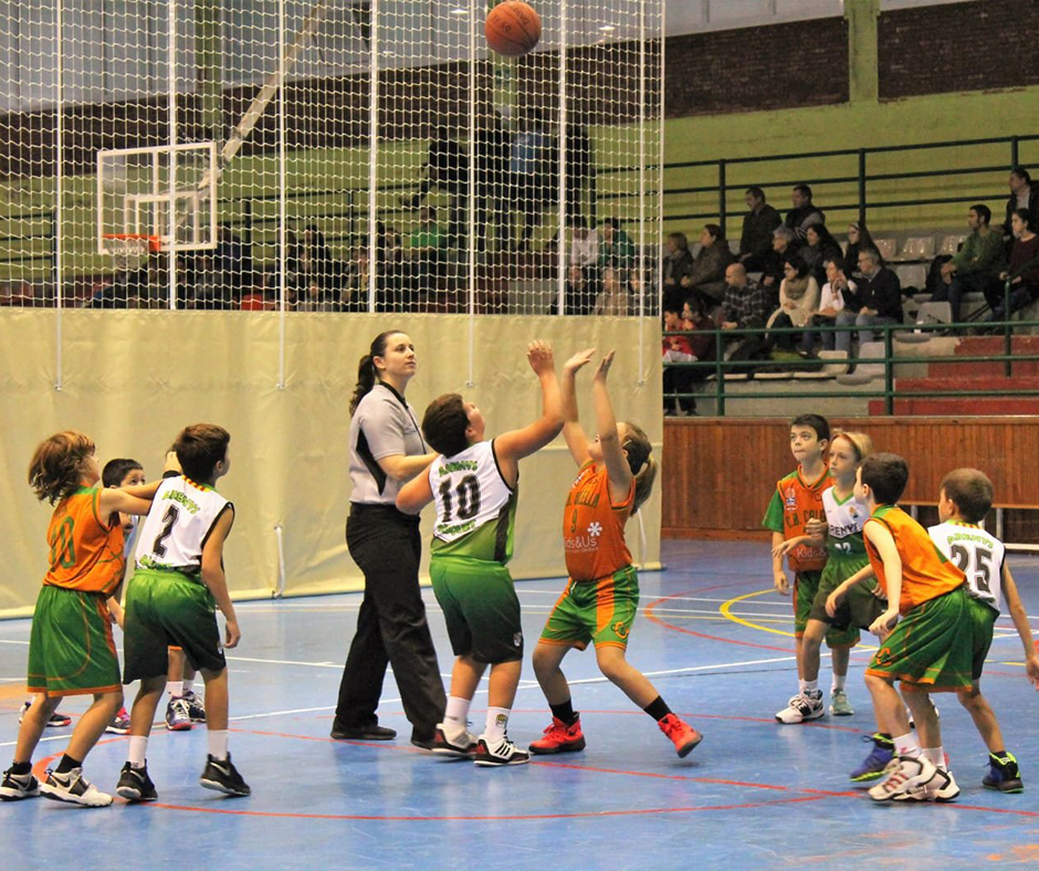 """El Kids&Us Premini """"A"""" ha jugat contra el Bàsquet Arenys"""
