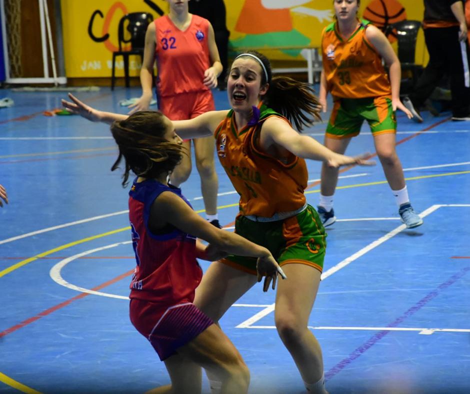 La intensitat de la Mireia Farreras. Foto: Esther Pujol