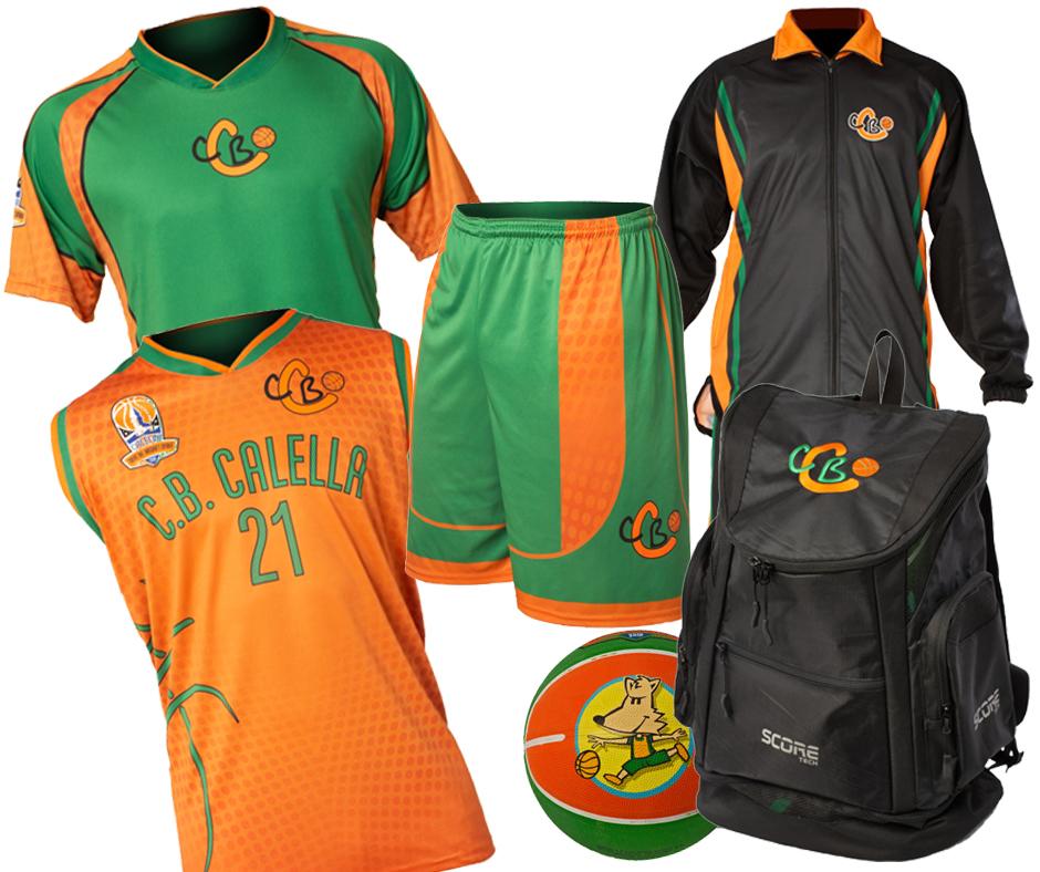 Els productes que pots trobar a la botiga oficial del CB Calella