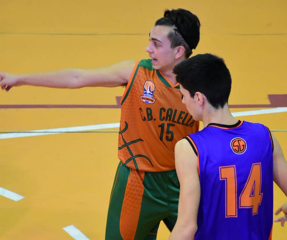 El gran Arnau Monné manant l'equip. Foto: Esther Pujol