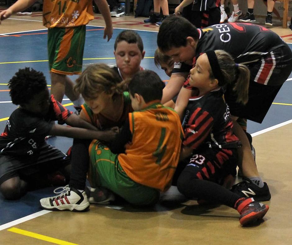 De qui és la pilota? Foto: Marta Puig