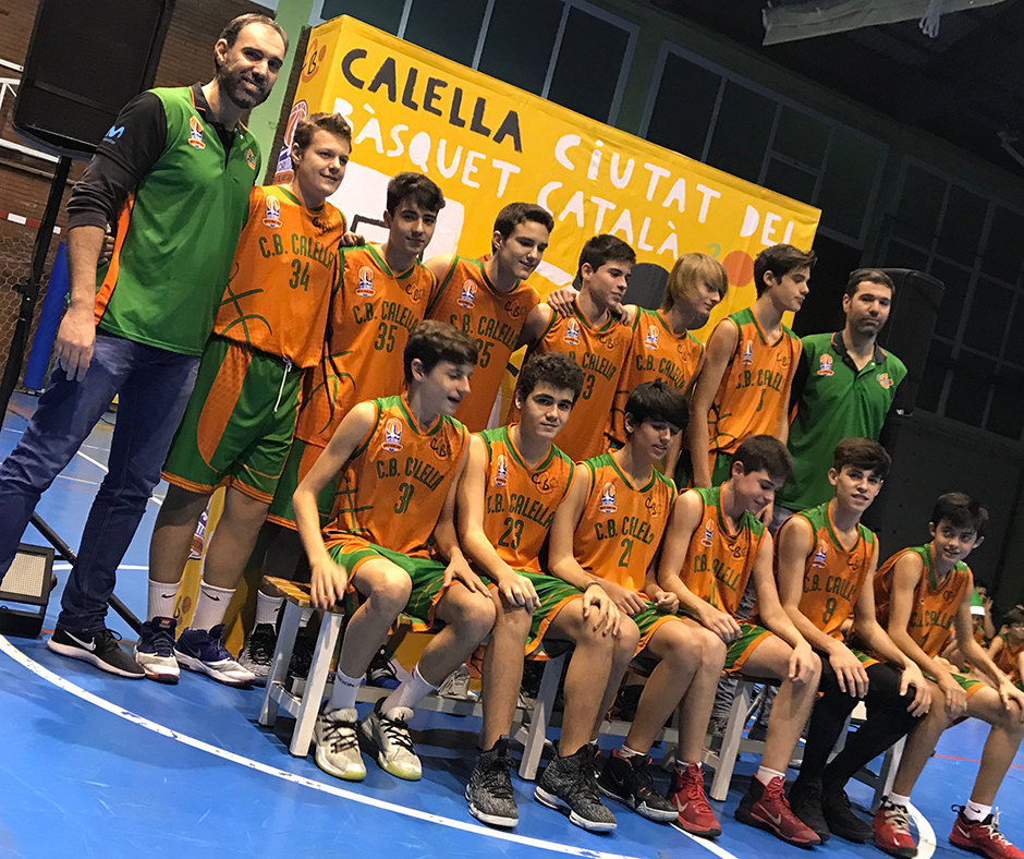 """Cadet """"B"""" masculí. Temporada 2018-2019"""