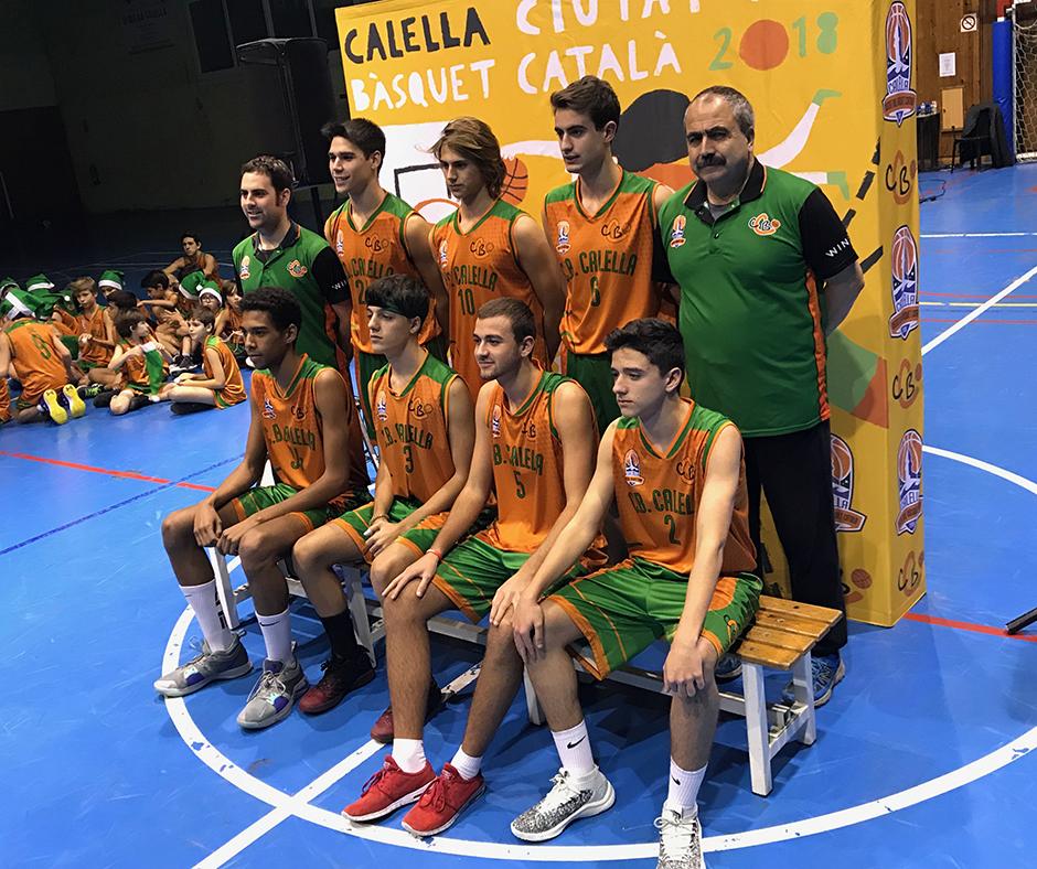 """Júnior """"B"""" masculí. Temporada 2018-2019"""