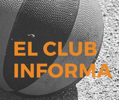 """""""El club informa"""""""
