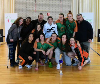 Les campiones del Globasket Christmas Cup 2018. Foto: Esther Pujol