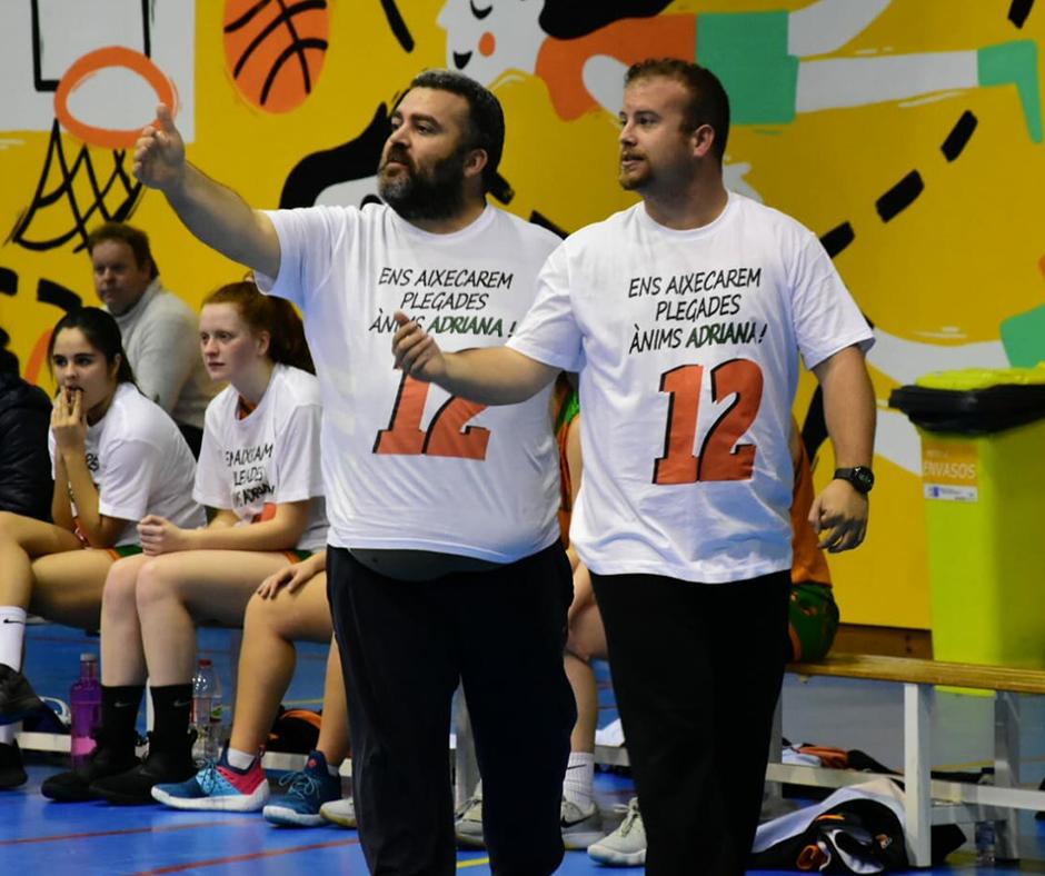 CB Calella - Jordi Fiérrez i Àlex Moral fent números per desfilar al Fashion Week. Foto: Esther Pujol