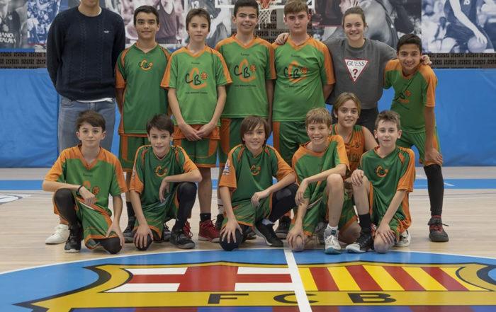 CB Calella - Orgullosos d'aquest equip! Hem plantat cara al Barça a casa seva. Foto: Ivan Lluís