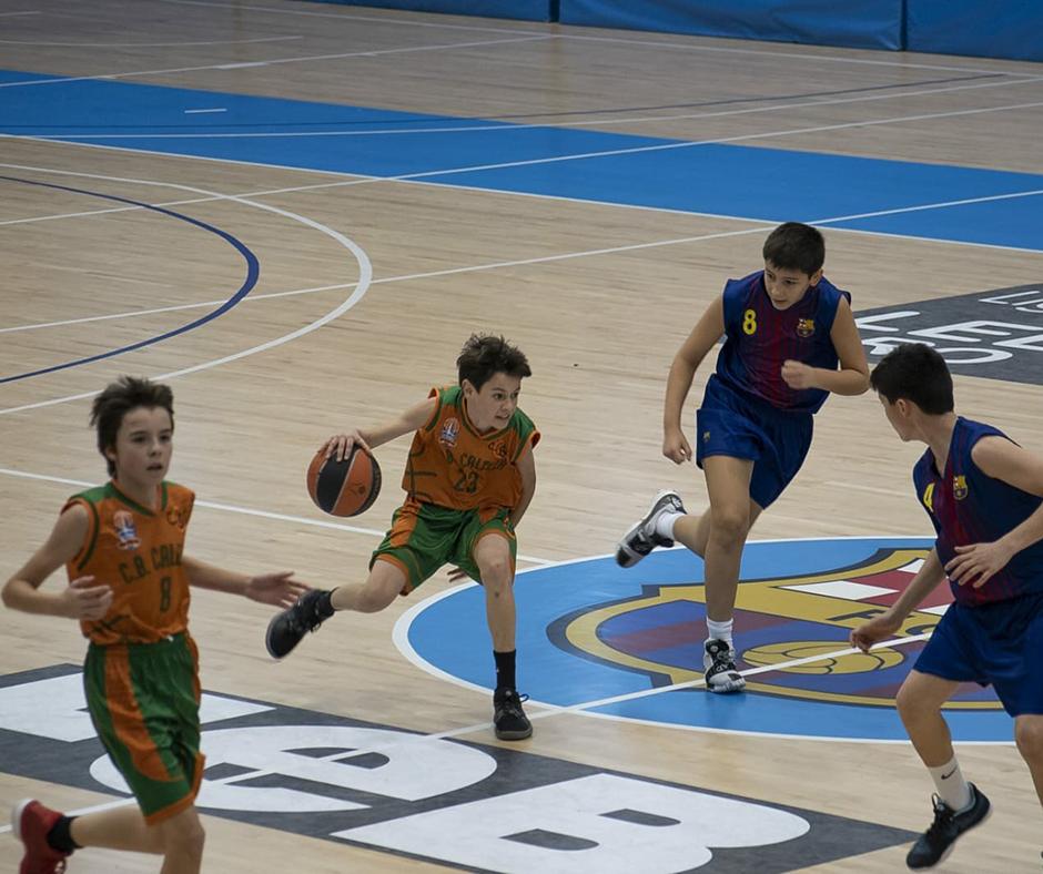 CB Calella - L'Arnau Lluís correns al contracop. Foto: Ivan Lluís
