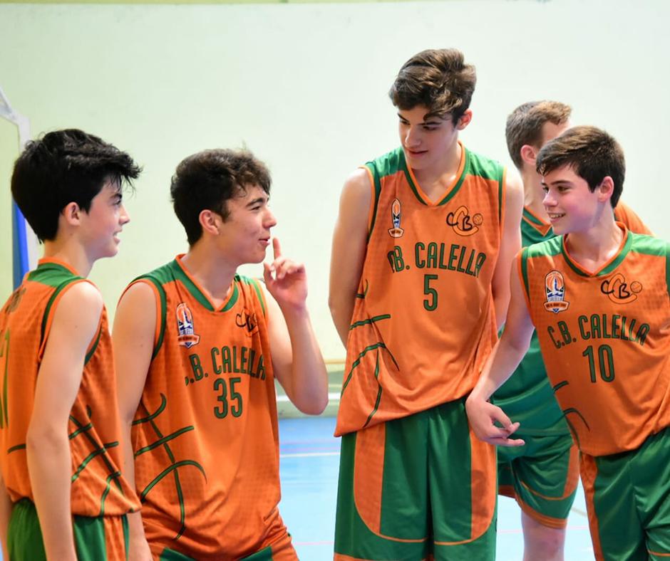 CB Calella - Què explica en Nil Pascual? Foto: Esther Pujol
