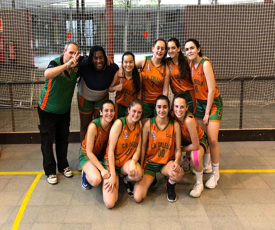 CB Calella - El júnior B femení tanca una bona temporada