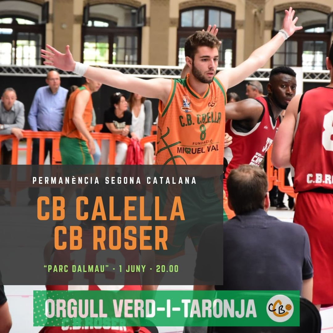 CB Calella - El sènior FMV es juga la permanència a Segona Catalana