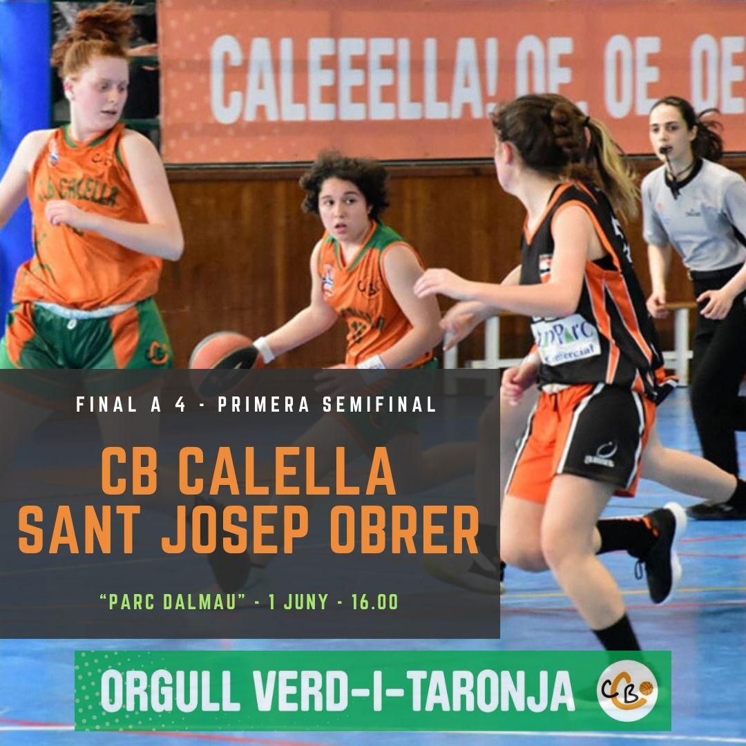 CB Calella - El júnior A femení juga la final a 4 de la categoria