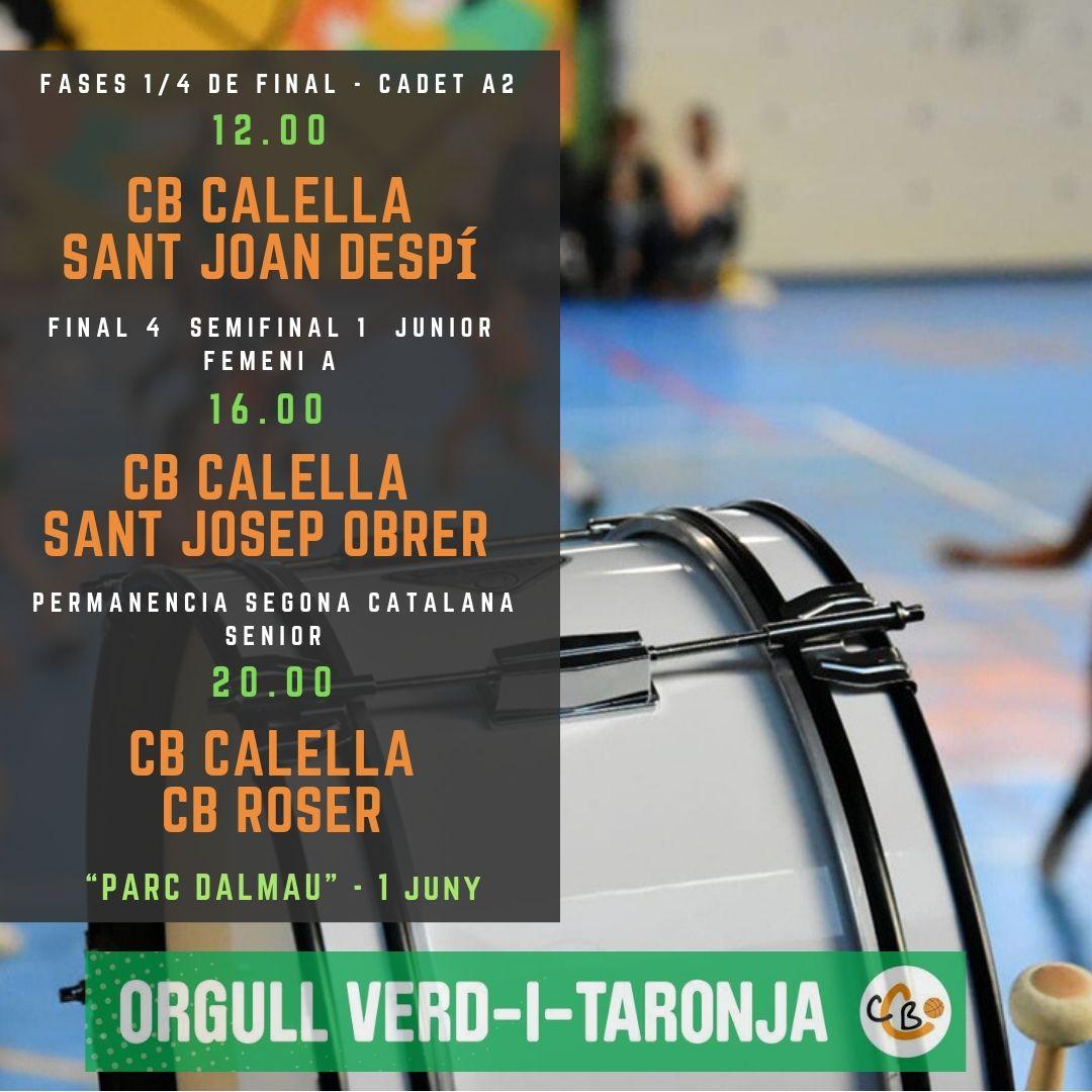 """CB Calella - Una jornada històrica al """"Parc Dalmau"""""""