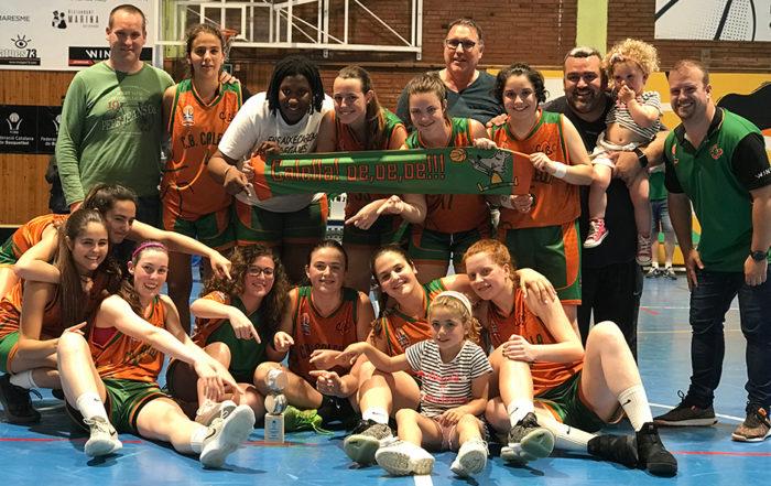 CB Calella - El júnior A femení, campió de Barcelona!
