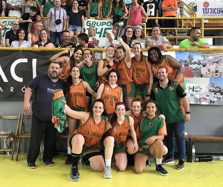 CB Calella - Les supercampiones amb la Copa!