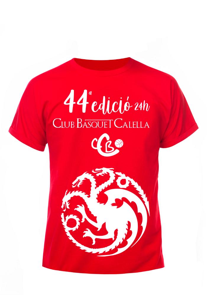 CB Calella - La samarreta vermella