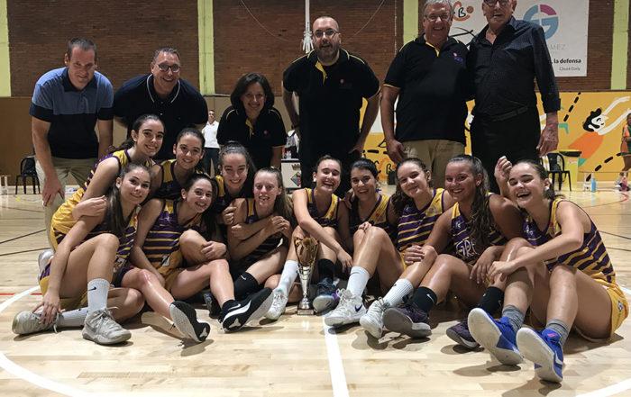 "CB Calella - L'equip júnior de la UE Mataró, brillants campiones del ""Memorial Pumarola"""