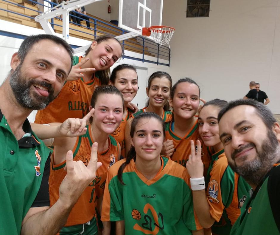 CB Calella - Les selfies de l'Albert triomfen