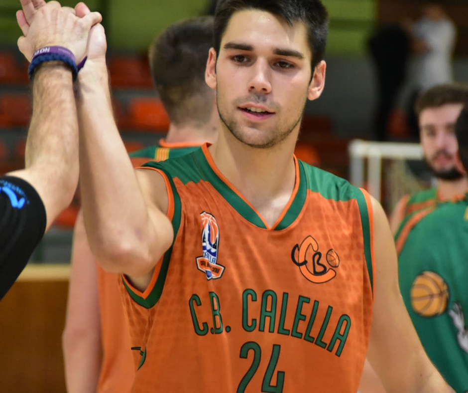 CB Calella - En Josep López, felicitat. Foto: Esther Pujol