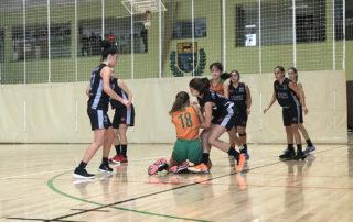 CB Calella - L'infantil femení no dóna per perduda cap pilota