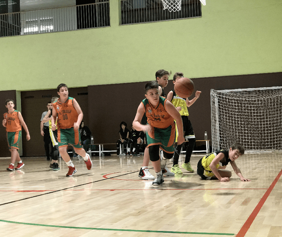 CB Calella - En Sergi Pascual buscant la pilota