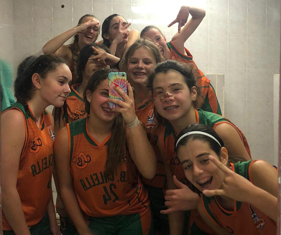 CB Calella - La selfie dels vidres bruts