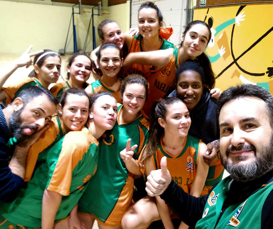 CB Calella - La selfie del júnior femení