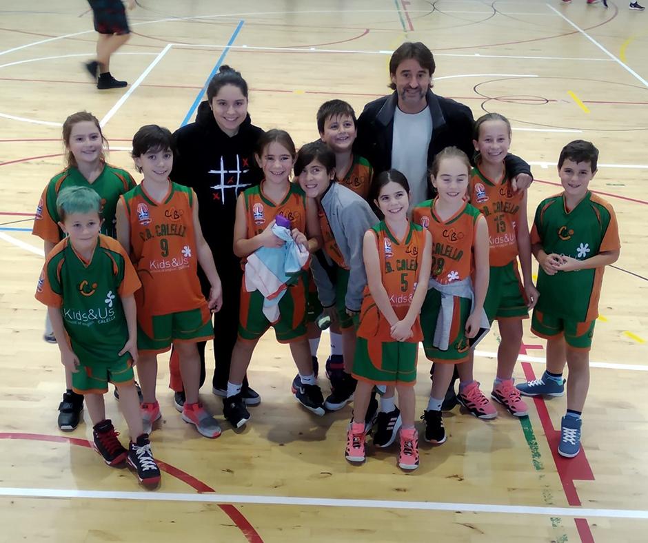 CB Calella - Diversió, amistat i bàsquet amb el nostre premini mixt