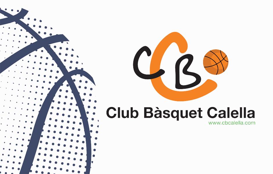 CB Calella - Part frontal del carnet de soci del Club Bàsquet Calella