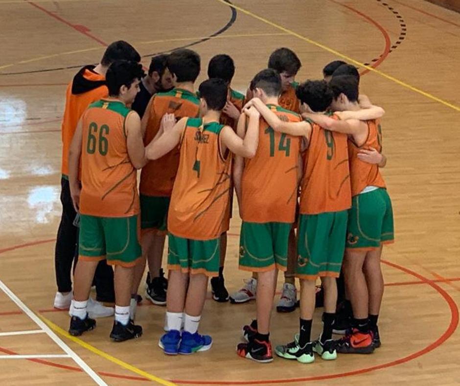 CB Calella - El cadet C celebra la segona victòria de la temporada