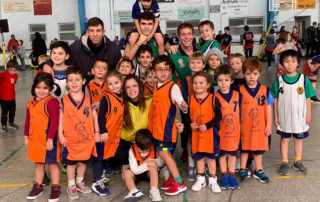 CB Calella - Alguns dels nens i nenes de la nostra escoleta, a la trobada de Canet